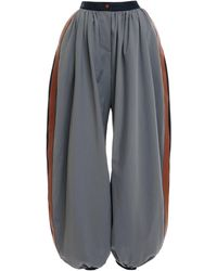 Loewe Tri-color Balloon Trousers - Blue