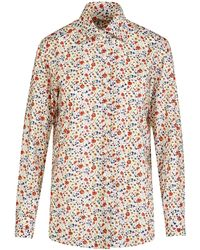 Giuliva Heritage Collection The Elvira Shirt Printed Cotton - Multicolour