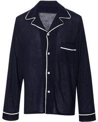 The Elder Statesman - Favorite Cashmere Pajama Top - Lyst