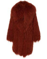 Michael Kors Collared Fur Coat