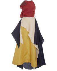 Rosie Assoulin Halter Layered Tutto Dress - Multicolour