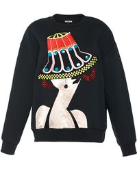 Holly Fulton - Oversized Embroidered Sweatshirt - Lyst