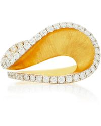 Kavant & Sharart - Happy Stack 18k Gold, Sapphire And Diamond Ring - Lyst