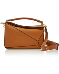 a26803a49976 Lyst - Loewe Puzzle Bag With Snake in Brown
