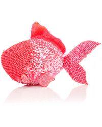 Manish Arora - Pink Life Aquatic Embroidered Fish Bag - Lyst