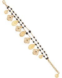 Dolce & Gabbana Gold-plated And Beaded Bracelet - Metallic