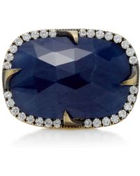 Sylva & Cie - Faceted Sapphire Good Girl Gone Bad Ring - Lyst