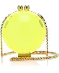 6b22e19875ce Marzook - X Sofia Richie Lucid Classic Neon Plexiglass Orb Bag - Lyst