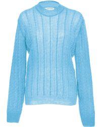 Nanna van Blaaderen Summer Cable Sweater - Blue