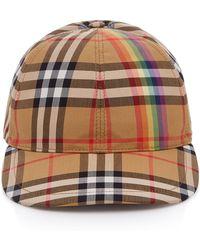 Burberry - Vintage Check Baseball Cap - - Lyst