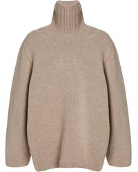 Totême - Cambridge Wool-cashmere Sweater - Lyst