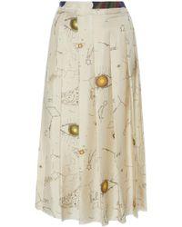 La Prestic Ouiston - Gina Pleated Skirt - Lyst