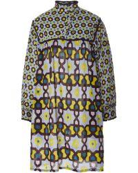 Yvonne S - Long Sleeve Cotton Mini Dress - Lyst