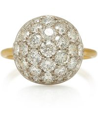 Irene Neuwirth 18k White Gold And Diamond Ring - Metallic