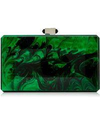 Judith Leiber Couture | Rectangle Malachite Clutch | Lyst