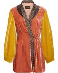 502bddaf5d2c8 Etro - Penrose Embroidered Velvet Jacket - Lyst