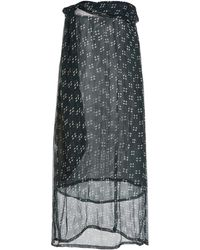 Cloe Cassandro Naomi Printed Silk Dress - Green
