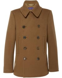 Ralph Lauren Double-breasted Cashmere Peacoat - Brown