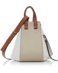 Loewe Small Hammock Two-tone Top Handle Bag - Multicolour