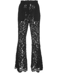 Proenza Schouler - Flared Lace Pant - Lyst