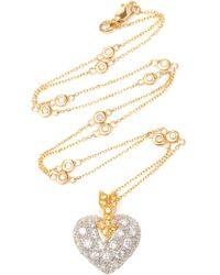Gioia 18k Gold, Platinum And Multi-stone Earrings - White