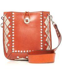 Isabel Marant - Vintage Studded Oskan Bag - Lyst