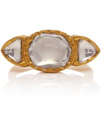 Sanjay Kasliwal - 22k Gold, Diamond Ring - Lyst