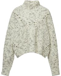 Isabel Marant - Jilly Arty Chunky-knit Wool Sweater - Lyst
