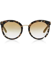Dolce & Gabbana | Tortoiseshell Acetate Cat-eye Sunglasses | Lyst