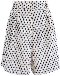 Alix Of Bohemia Rickie Dalmatia Dot Cotton Shorts - Multicolour