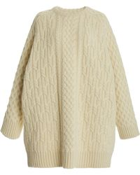 Co. - Cable-knit Wool Sweater - Lyst