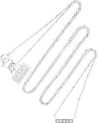Vanrycke - Medellin 18k White Gold Diamond Necklace - Lyst