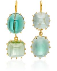 Renee Lewis - 18k Gold Tourmaline Earrings - Lyst
