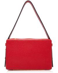 Lutz Morris Tate Large Shoulder Bag - Red