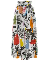 WHIT - Kimani Linen Skirt - Lyst