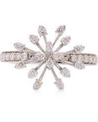 Hueb - M'o Exclusive 18k White Gold And Diamond Ring - Lyst
