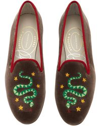 Stubbs & Wootton - M'o Exclusive: Hydra Cacao Loafer - Lyst