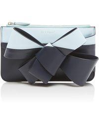 Delpozo - Colorblock Mini Bow Bag - Lyst