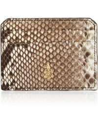 Mark Cross Python Cardholder - Multicolor