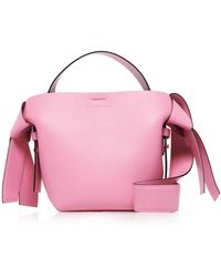 Acne Studios Mini Musubi Shoulder Bag - Pink
