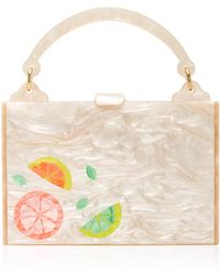 Edie Parker - Large Inlay Housewife Bag - Lyst