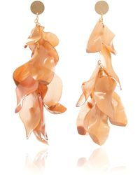 Johanna Ortiz - M'o Exclusive Milonga Gold-plated Resin Earrings - Lyst