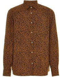 bd36231259c50d Maharishi. Leopard-print Silk-twill Shirt. £225. Harvey Nichols · Eidos -  Leopard-print Cotton-poplin Button-up Shirt - Lyst