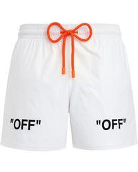 e175ee119b Men's Off-White c/o Virgil Abloh Beachwear Online Sale - Lyst