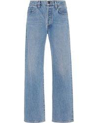 Goldsign Nineties Rigid High-rise Straight Leg Jeans - Blue