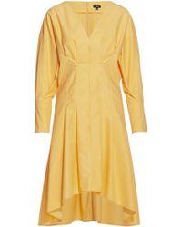 Ji Oh - Gathered Puff Dress - Lyst