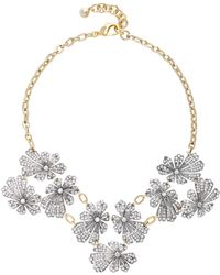 Lulu Frost - Camellia Silver And Gold-plated Brass Necklace - Lyst