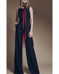 Hellessy - First Jumpsuit With Covered Accent Buttons - Lyst