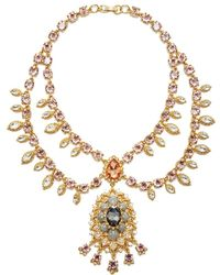 Marchesa - Swag Collar Necklace - Lyst