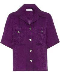 Art Dealer Demi Shirt - Purple
